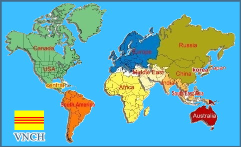 world news map